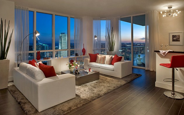 16 Jaw Dropping Modern Living Room Designs With Amazing View