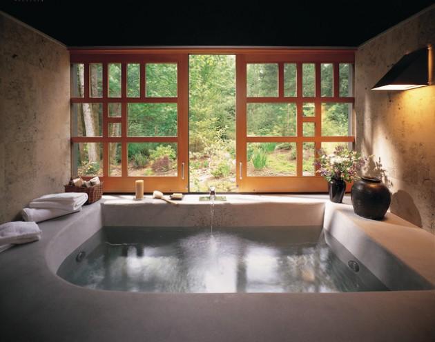 16 Majestic Asian Inspired Bathroom Design Ideas