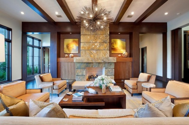 18 Beautiful & Comfortable Living Room Design Ideas