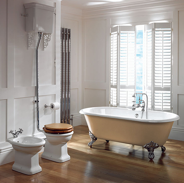 15 beautiful ideas how to decorate vintage bathroom for Vintage bathroom