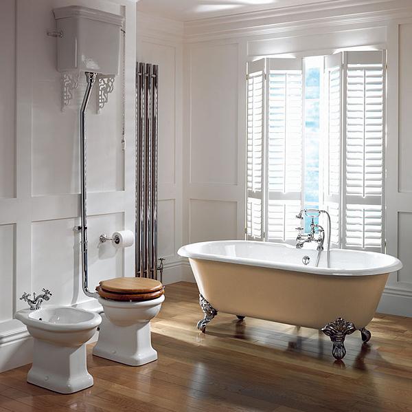 15 Beautiful Ideas How To Decorate Vintage Bathroom