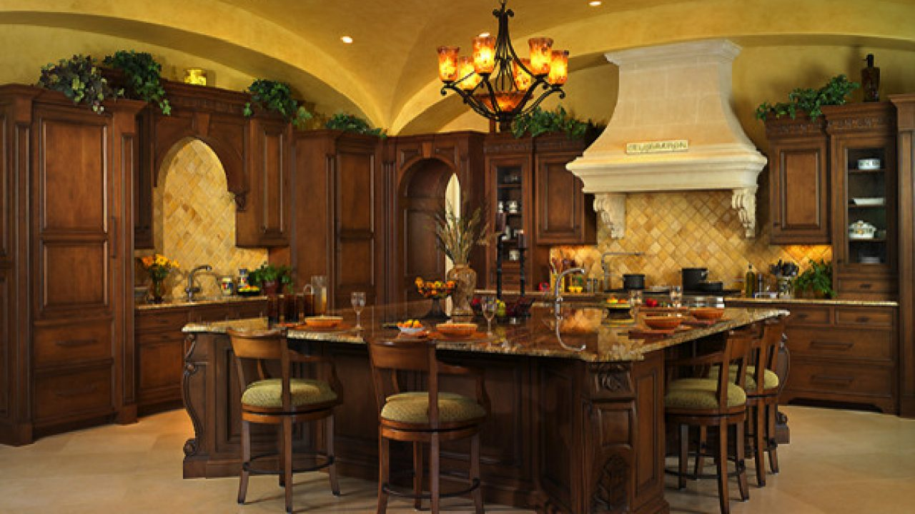 17 Classy Mediterranean Kitchen Design Ideas