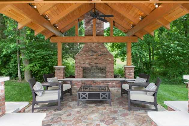 18 Majestic Covered Patio Design Ideas To Enjoy In The Hot ...