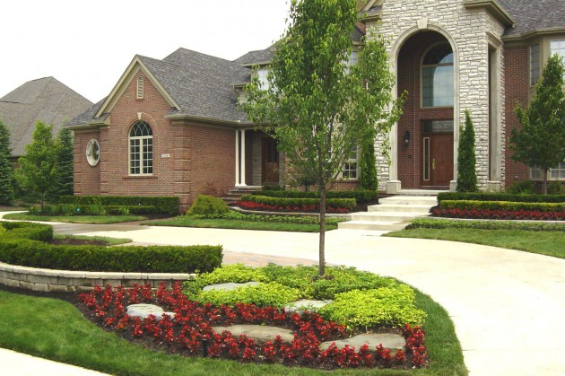 17 Tempting Front Yard Landscape Ideas For A Good Impression