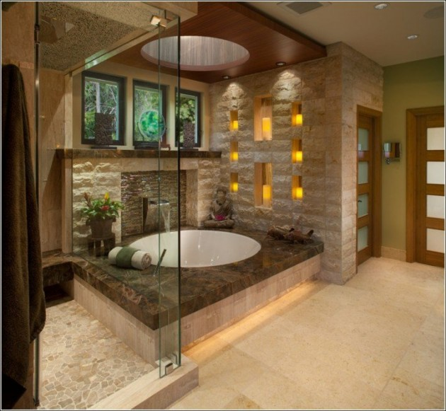 16 Majestic Asian Inspired Bathroom Design Ideas