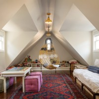 20 Comfortable Attic Playroom Design Ideas