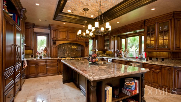 18 luxury traditional kitchen designs that will leave you breathless - Belles cuisines traditionnelles ...