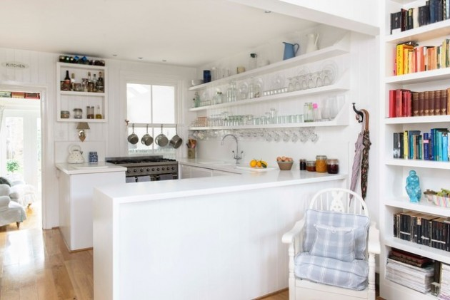 21 Adorable & Functional Small Kitchen Design Ideas