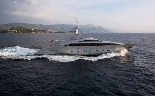 The World's First Water-Jet Hybrid Propelled Superyacht