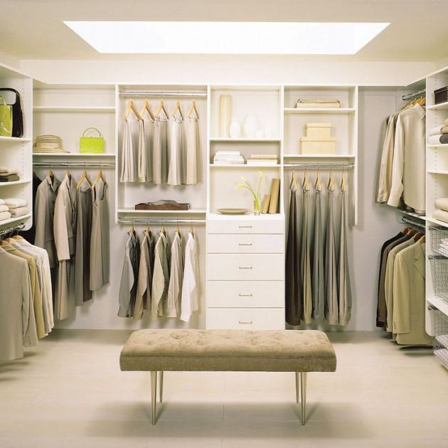 Closet Design Ideas: 17 Beautiful Open Closet Designs For Sophisticated Home