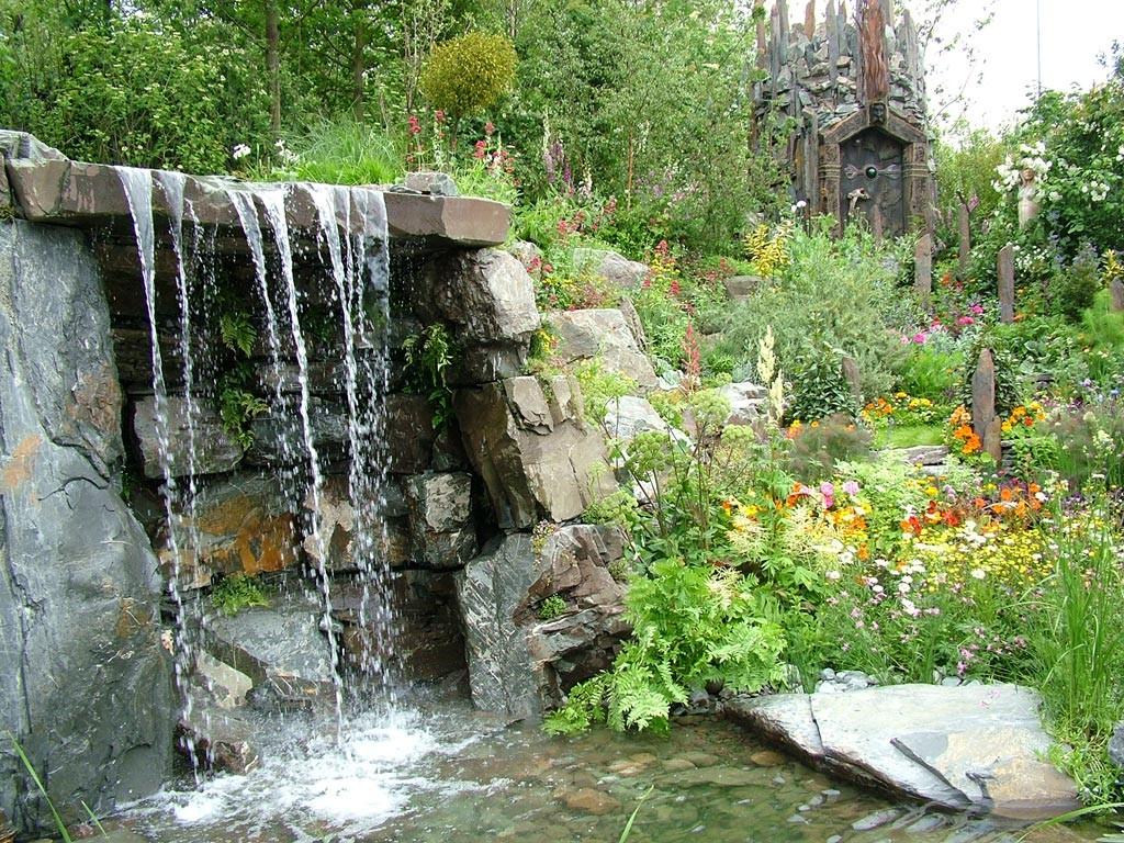 Водопад в сад