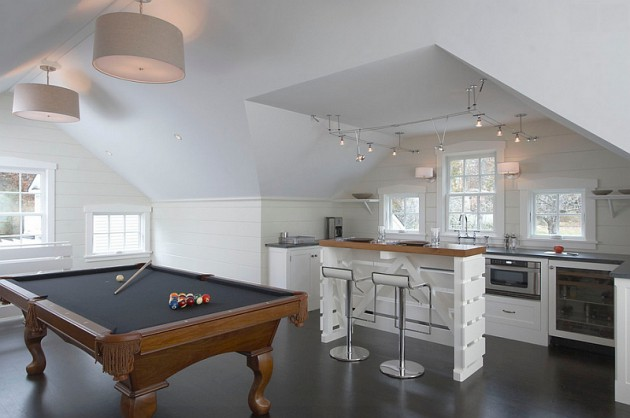 The Best 16 Ideas To Transform The Attic Into Fun Game Room