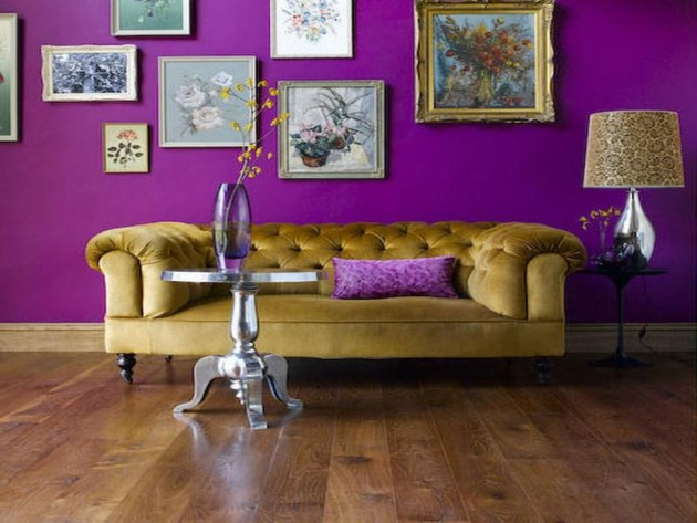 19 Phenomenal Purple Living Room Design Ideas