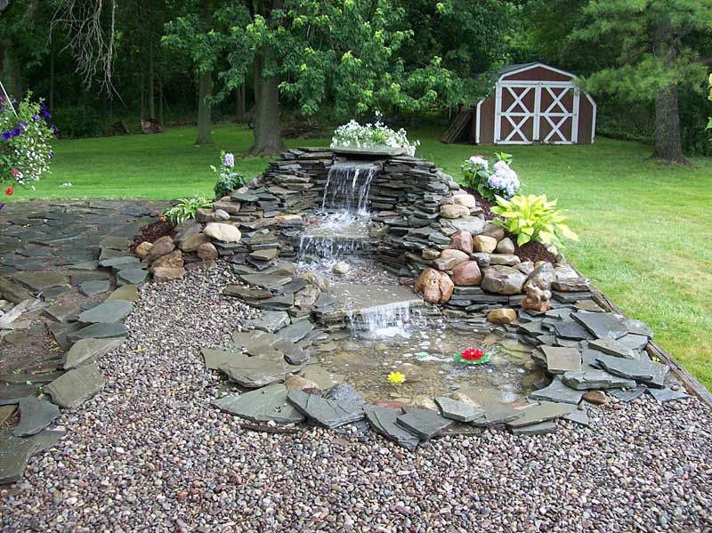 18 Flawless Waterfalls Garden Ideas To Get You Inspired on Small Backyard Waterfall Ideas id=49483