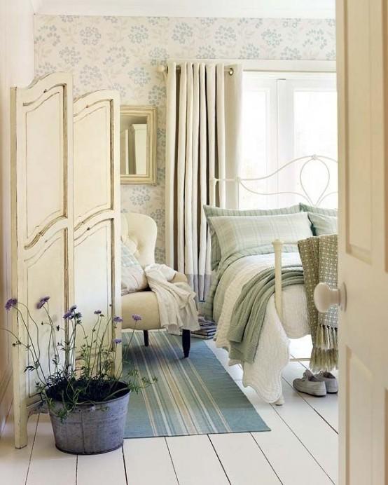 15 Delightful Provence Bedroom Design Ideas