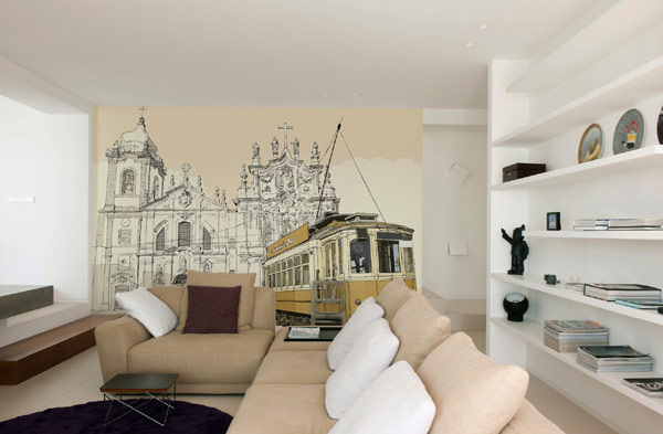 Wall Murals For Living Room refreshing wall mural ideas for your living room