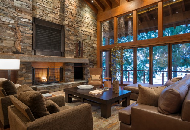 15 Incredible Rustic Living Rooms To Get Ideas From