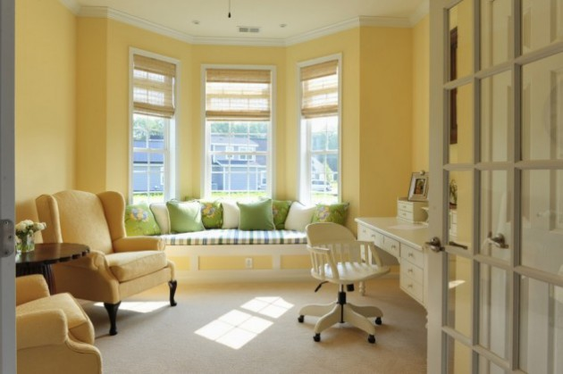 15 Astonishing Window Seat Design Ideas
