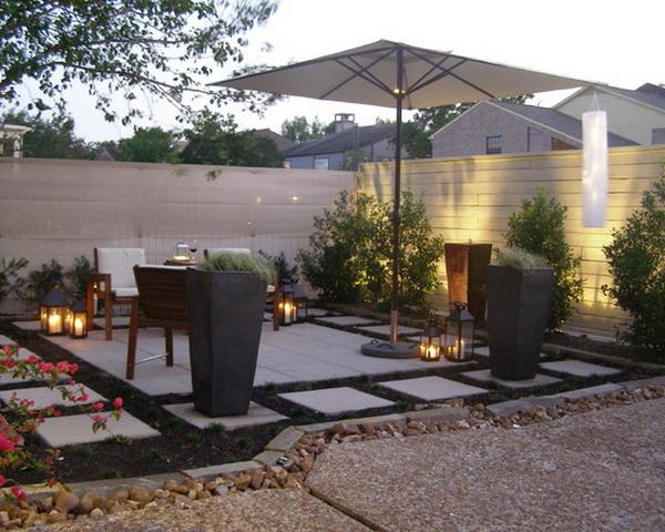 19 Divine Contemporary Backyard Designs on Contemporary Backyard Landscaping Ideas id=89235