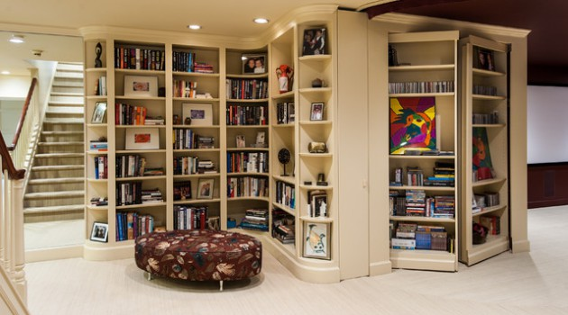 17 Creative Built-In Bookcase Design Ideas