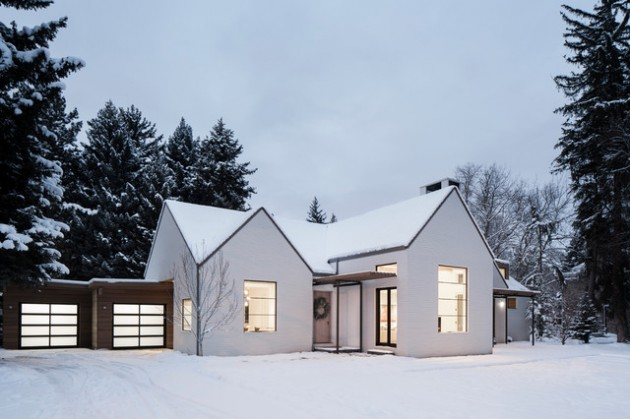 16 Astonishing Scandinavian Home Exterior Designs That
