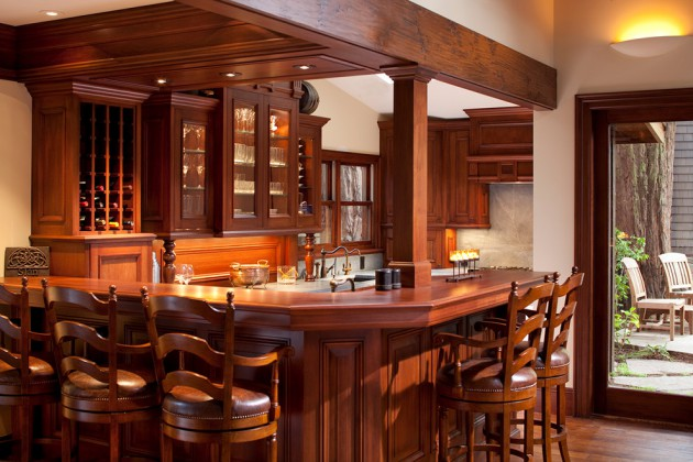 16 Awe-Inspiring Rustic Home Bars For An Unforgettable Party