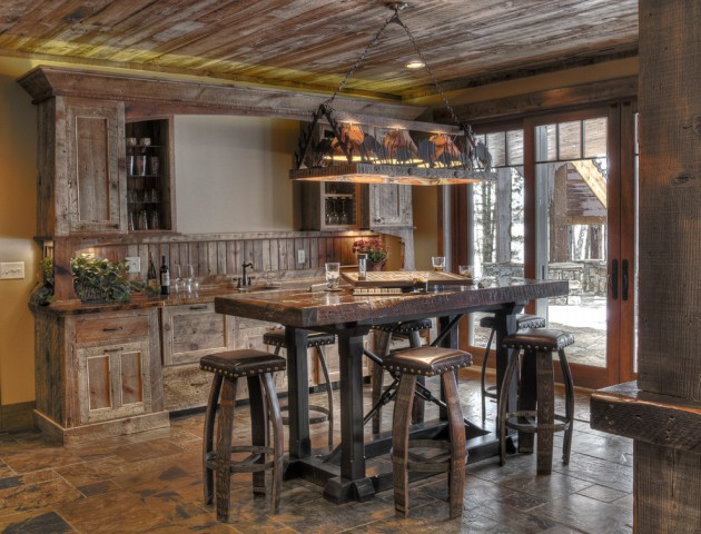 16 Awe Inspiring Rustic Home Bars For An Unforgettable Party