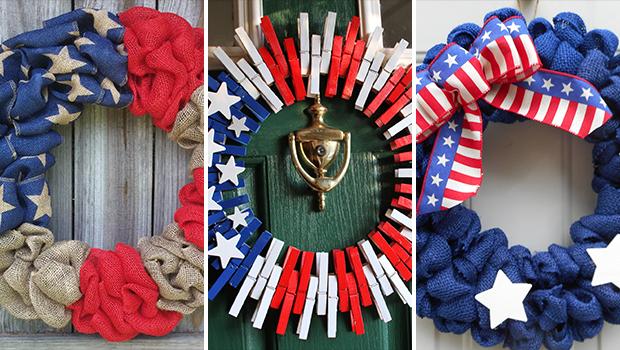 4th Of July Wreaths For Front Door Diy