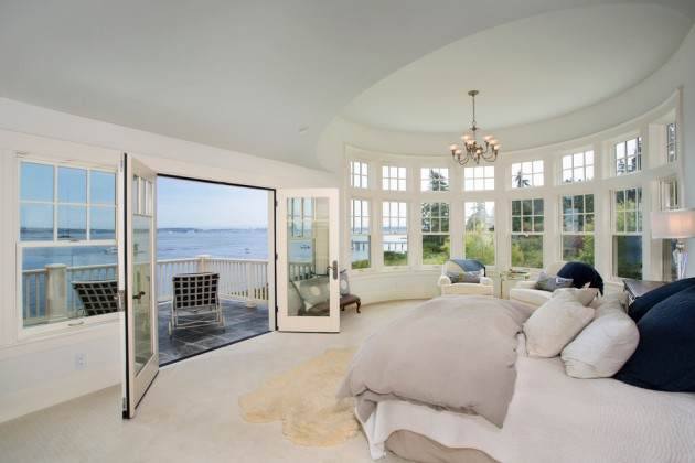 French Doors Interior Bedroom