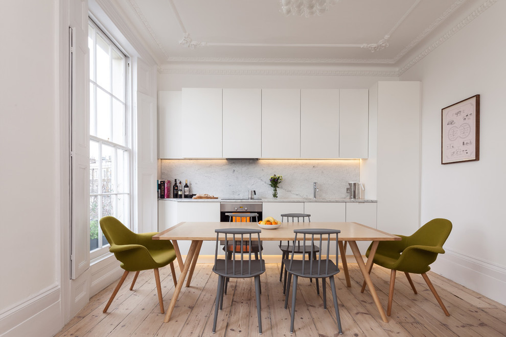 16 staggering scandinavian kitchen designs for your modern Small dining rooms london