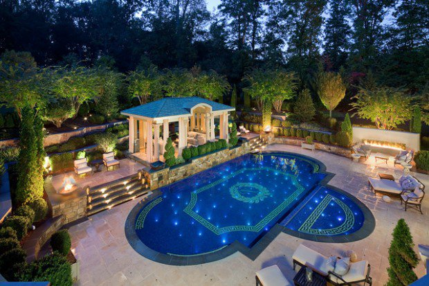 16 Stunning Mediterranean Swimming Pool Designs To