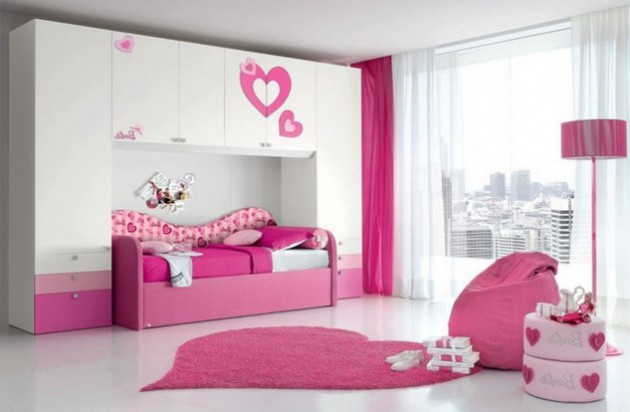 19 Cute Girl's Bedrooms For Your Little Princess