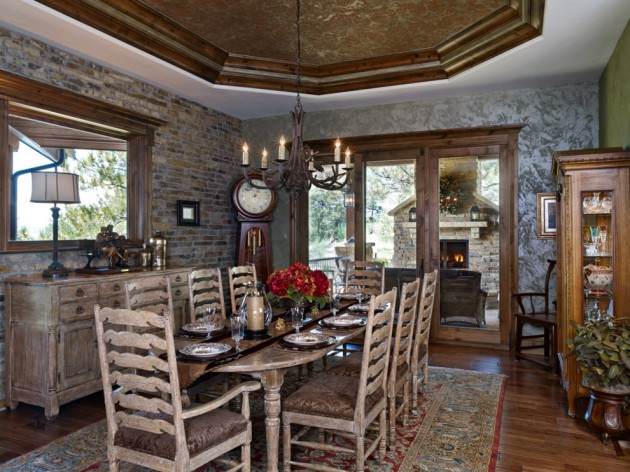 17 Amazing Rustic Dining Rooms That Will Make You Enjoy