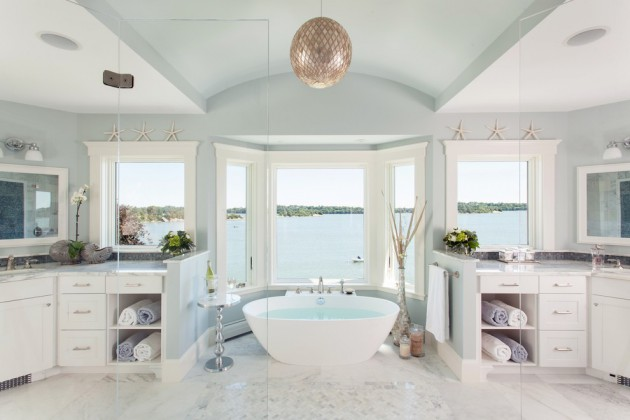 17 Beautiful Coastal Bathroom Designs Your Home Might Need,Virtual Fence Designer