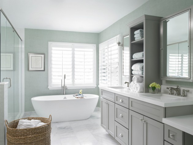 17 beautiful coastal bathroom designs your home might need for Coastal bathroom design