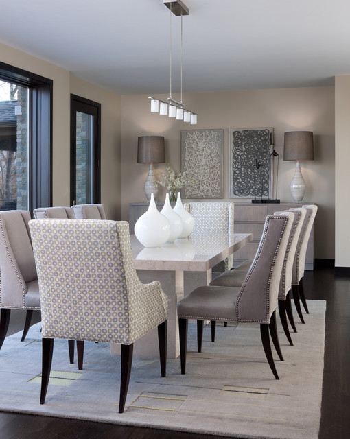 18 Marvelous Contemporary Dining Room Design Ideas