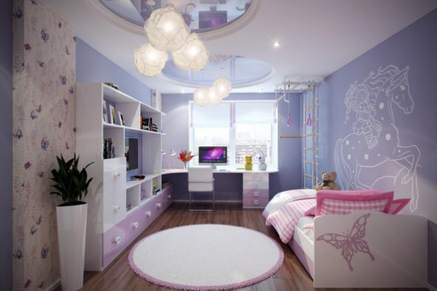 19 Cute Girls Bedrooms For Your Little Princess
