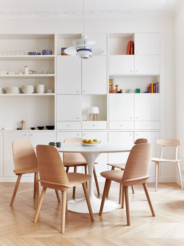 18 Astonishing Scandinavian Dining Room Designs To Make You Enjoy Your Family Meals