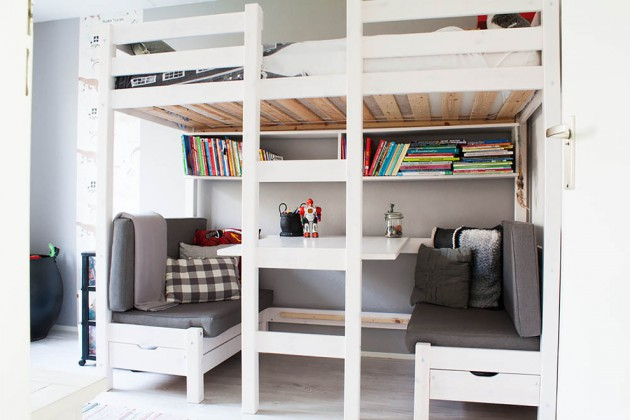 18 Compelling Scandinavian Kids' Room Designs That Kids Can't Resist