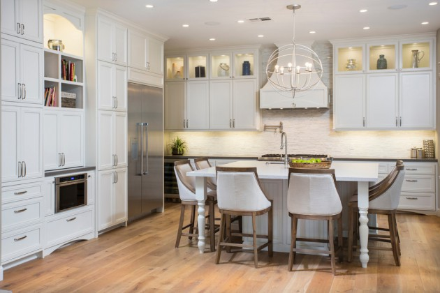 Fantastic coastal kitchen designs for your beach house or for Beach cottage kitchen design ideas