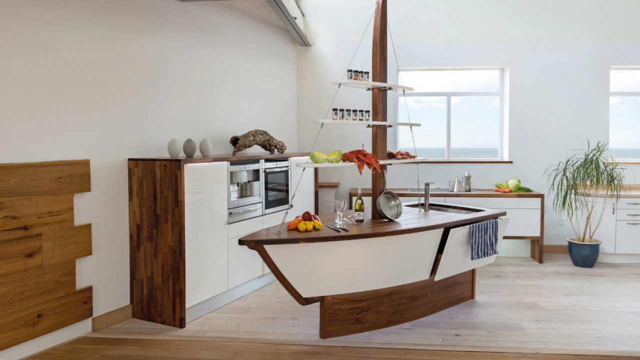 18 Fantastic Coastal Kitchen Designs For Your Beach House Or