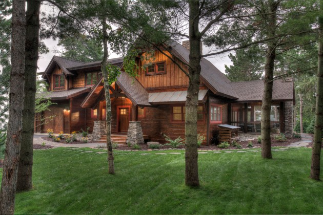 18 Formidable Rustic Homes That Will Make You Jealous Of