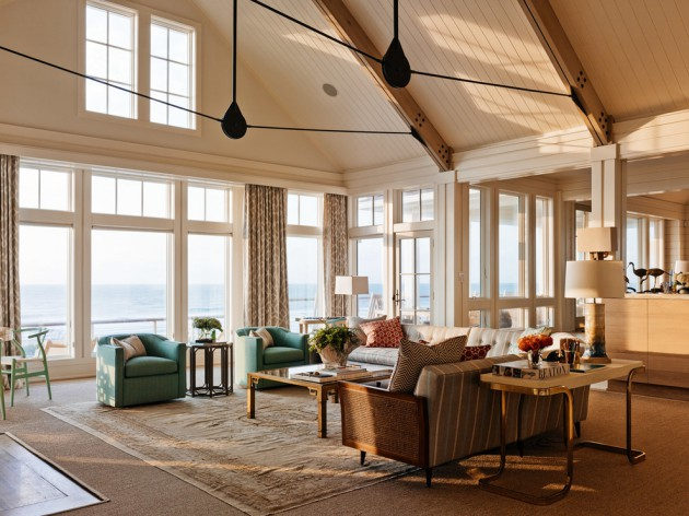 Marvelous Tranquil Coastal Living Rooms To Ensure Your Comfort Largest Home Design Picture Inspirations Pitcheantrous