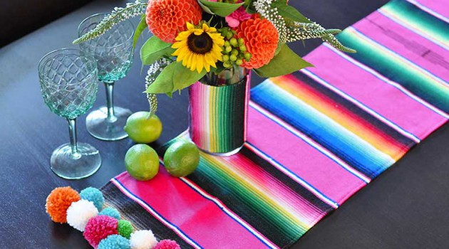 21 Inspirational Ideas How To DIY Cool Table Runner
