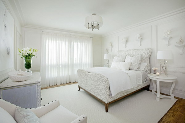 19 Exclusively Gorgeous White Bedroom Designs For All Tastes