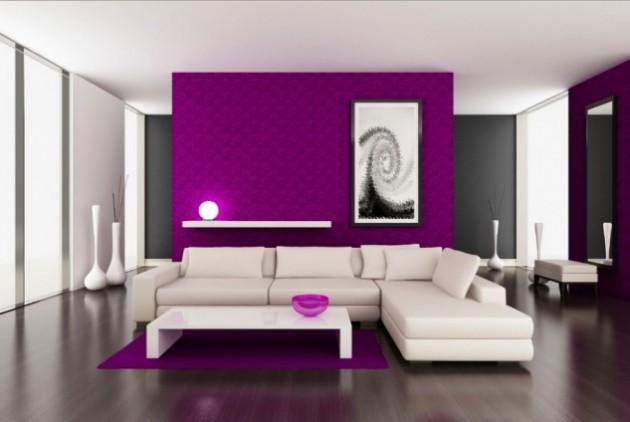 19 Phenomenal Purple Living Room Design Ideas