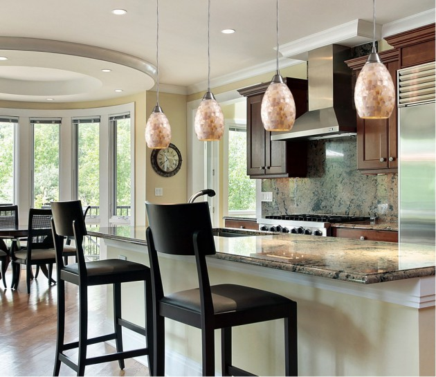 Large Modern Pendant Light