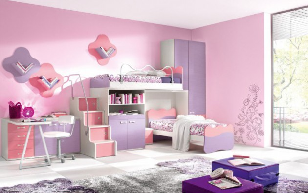 19 Cute Girl\'s Bedrooms For Your Little Princess