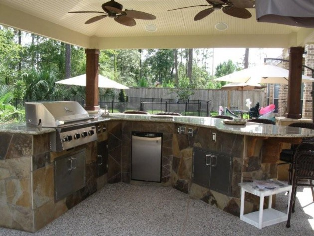 Superieur 20 Brilliant Outdoor Kitchen Design Ideas
