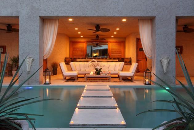 23 Remarkable Outdoor Living Room Designs